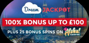 DreamJackpot Casino bonus