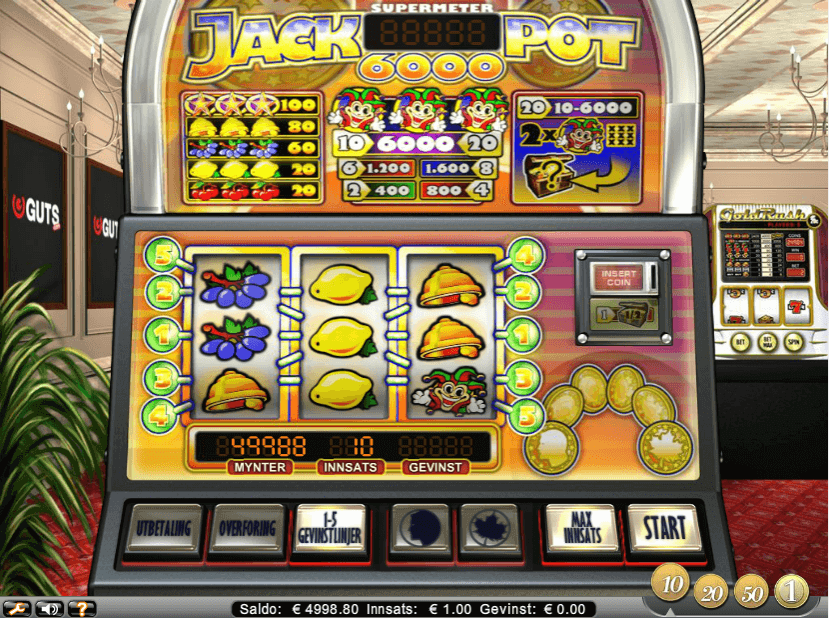 Jackpot 6000 Gratis