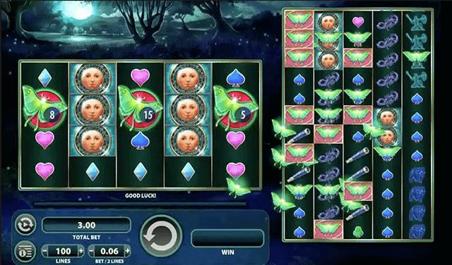 Spill spilleautomaten KISS fra WMS