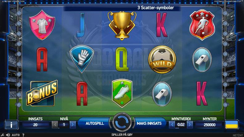 football championship cup