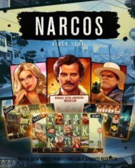 Vi er spente på NetEnt's oppkommende Narcos Spilleautomat